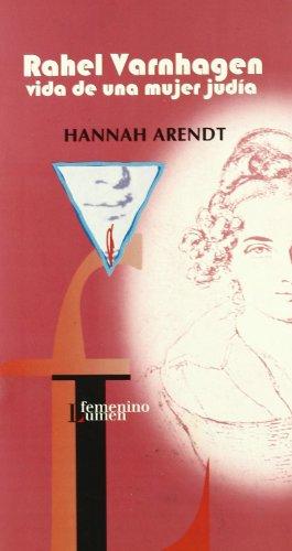 9788426449580: Rahel Varnhagen: La vida de una mujer judía (NARRATIVA)