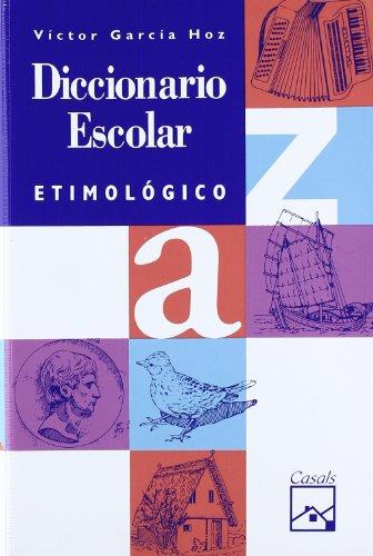 9788426539304: Diccionario escolar etimológico (Familia y valores)