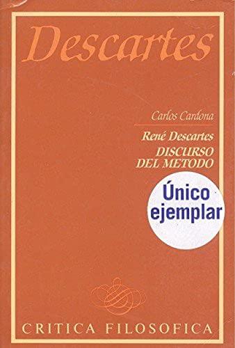 9788426553003: René Descartes, Discurso del método (Colección Crítica filosófica ; 1) (Spanish Edition)