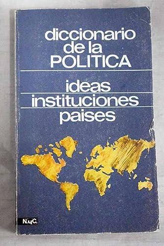 9788426570475: DICCIONARIO DE LA POLITICA