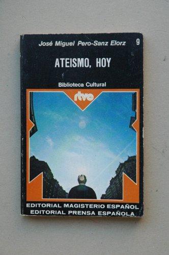 ATEISMO, HOY: JOSÉ MIGUEL PERO-SANZ