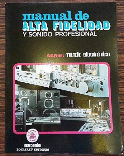 9788426705419: Manual de alta fidelidad y sonido profesional