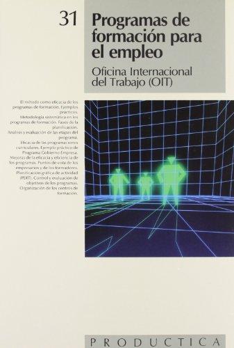Programas de Formacion Para El Empleo (Spanish: Jose Mompin Poblet