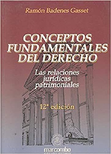 9788426712806: DERECHO. CONCEPTOS FUNDAMENTALES DEL, 12 EDICION
