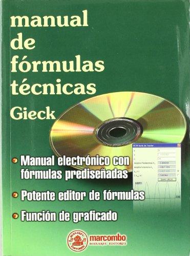 9788426713308: Manual de fórmulas técnicas (+ cd)