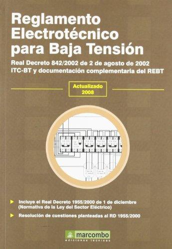 9788426714428: Reglamento Electrotécnico para Baja Tensión (REBT)