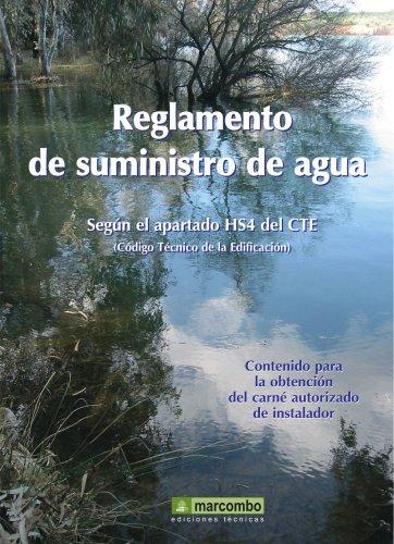 9788426714442: Reglamentación Sobre Suministro De Agua En Interior De Edificios