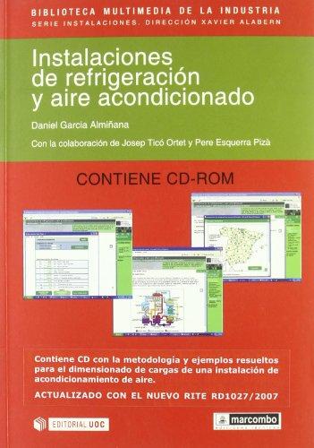 9788426714732: Instalaciones de refrigeracion y aire acondicionado