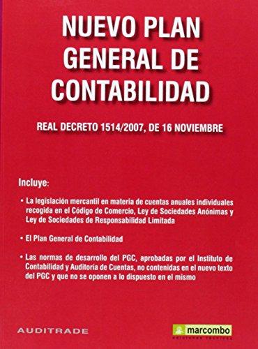 9788426714893: Nuevo plan general de contabilidad