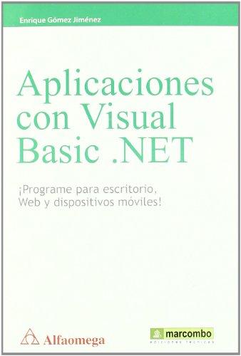 9788426717054: Aplicaciones con Visual Basic .NET