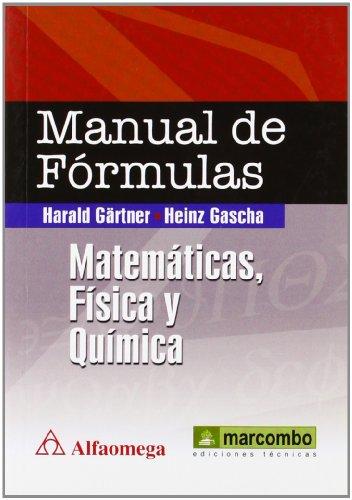 9788426717436: Manual de fórmulas : matemáticas, física y química