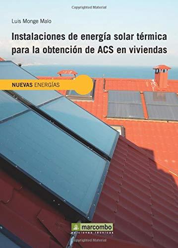 9788426719638: Instalaciones de energía solar térmica para la obtención de ACS en viviendas y edificios (NUEVAS ENERGÍAS)