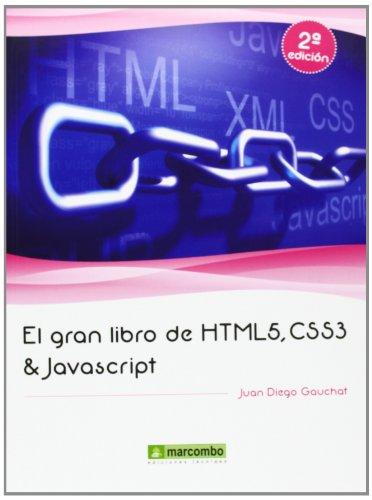 9788426719959: El gran libro de HTML5, CSS3 y Javascript