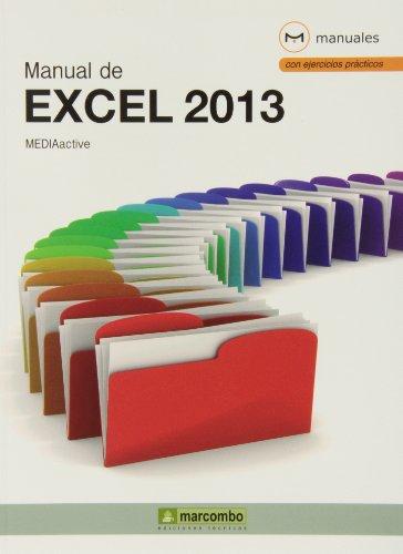 9788426720733: Manual de Excel 2013 (MANUALES)
