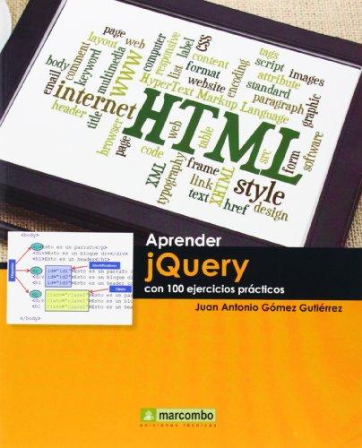 9788426721082: Aprender jQuery Con 100 Ejemplares Prácticos (Aprender (marcombo))