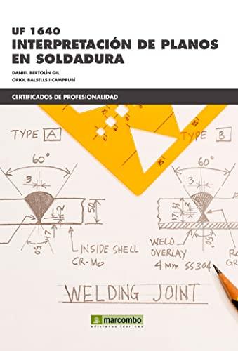 9788426721877: *UF 1640 Interpretación de planos en soldadura (CERTIFICADOS DE PROFESIONALIDAD)