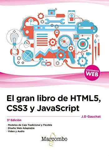 9788426724632: El gran libro de HTML5, CSS3 y JavaScript 3ª Edición (Spanish Edition)