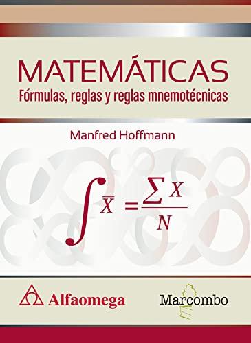 MATEMATICAS FORMULAS REGLAS Y REGLAS MNE: MARCOMBO