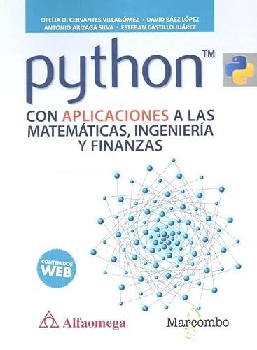 Python con aplicaciones a las matemáticas, ingeniería: Marcombo