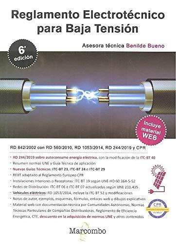 9788426727930: Reglamento Electrotécnico Para Baja Tensión 6ª Ed.: 1 (MARCOMBO FORMACIÓN)