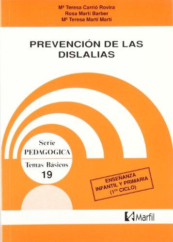 9788426807007: PREVENCION DE LAS DISLALIAS