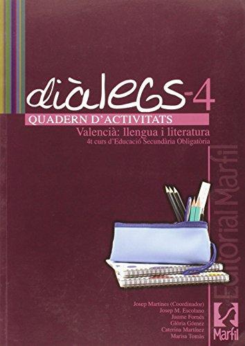 Diàlegs, 4 ESO. Quadern d'activitats: Martines, Josep