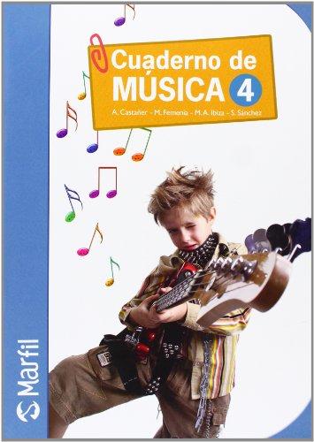 09).cuaderno musica 4o.primaria: Castañer Llinares, Antonino/Femenía
