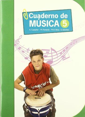 09).cuaderno musica 5o.primaria: Femenía Simo, Merche/Castañer