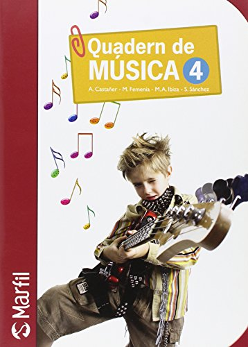 9788426815187: Quadern de Música - 4 (Educación Primaria) - 9788426815187