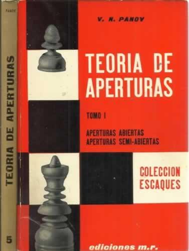 9788427001329: Teoria De Aperturas: Tomo I; Aperturas Abiertas, Aperuras Semi-Abiertas