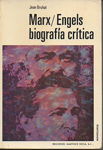 9788427002814: Marx-engels. biografia critica