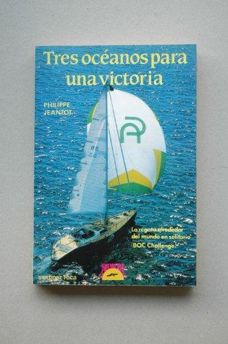 9788427009554: Tres oceanos para una Victoria