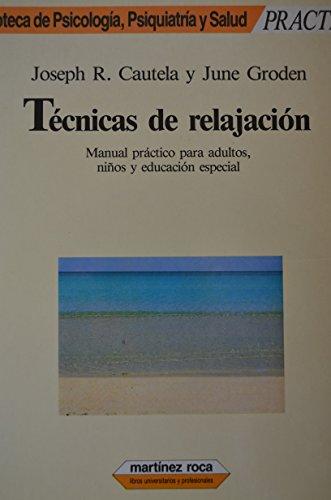 9788427009653: TECN. RELAJACION (MARTINEZ ROCA).