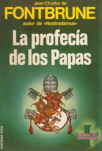 9788427009882: La Profecia de Los Papas (Spanish Edition)