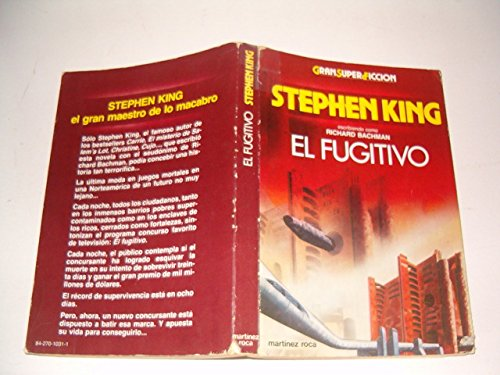 9788427010314: El Fugitivo/the Running Man (Spanish Edition)