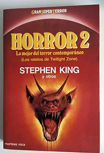 9788427010680: Horror 2. los relatos de twilght zone