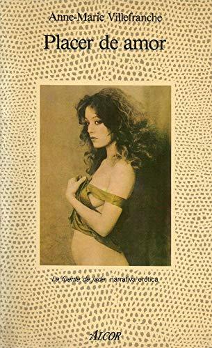 9788427012615: Placer de amor : memorias eróticas del París de los años veinte