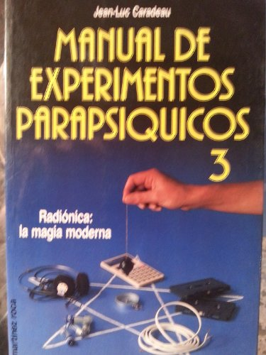 9788427012820: Manual de experimentos parapsiquicos 3