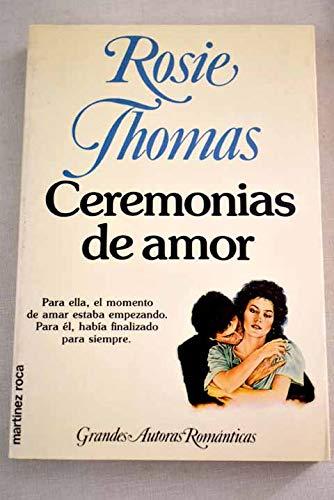 9788427012950: Ceremonias de amor