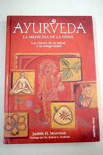9788427020634: Ayurveda. la medicina de la India (claves de la salud y la longevidad)