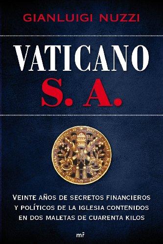 Resultado de imagen de vaticano s.a. gianluigi nuzzi imagenes