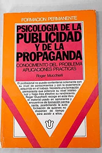 9788427110694: Psicologia de la publicidad y de la propaganda