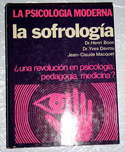 9788427111448: Sofrología, La