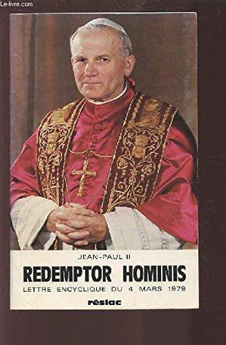 9788427111608: Redemptor hominis