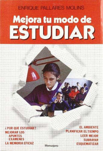 9788427113695: Mejora Tu Modo De Estudiar