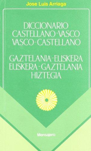9788427113947: Diccionario Vasco-Castellano / Castellano-Vasco