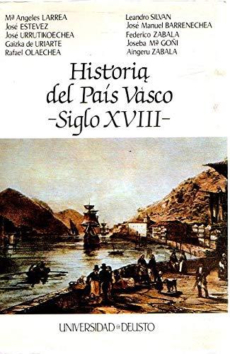 9788427114340: Historia del País Vasco (siglo XVIII) (Euskal Herria)