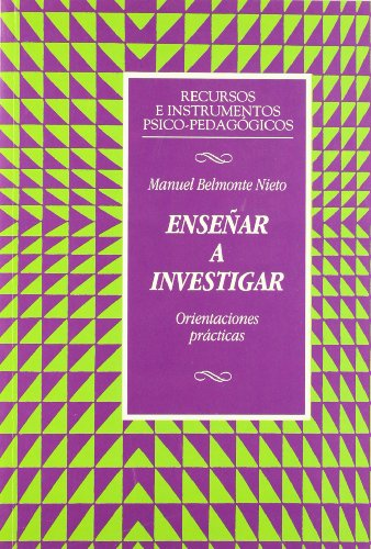 9788427124400: Enseñar a investigar : orientaciónes prácticas