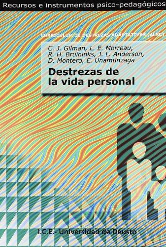 9788427124592: DESTREZAS DE LA VIDA PERSONAL (Recursos Instrumentos Psic)
