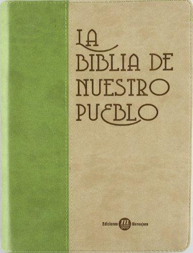 9788427129986: Biblia de nuestro pueblo (piel 2 tonos)